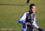 Cichero actuó en su demarcación habitual y disputó los 90 minutos