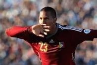 Salomón Rondón será el goleador de Venezuela
