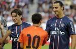 Ibra y Messi se verán las caras frente a frente en el Parc Des Princes